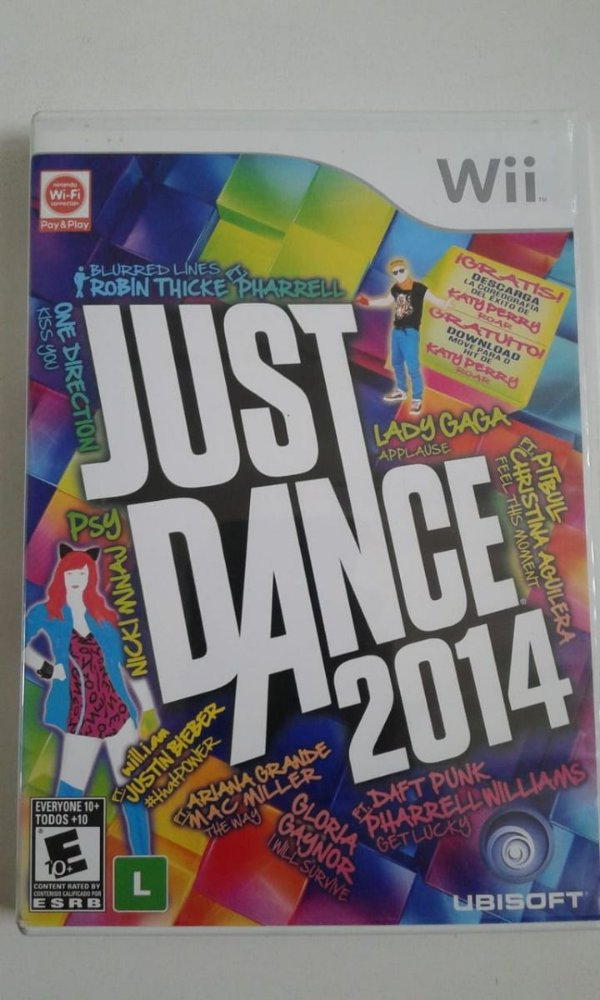 Game Nintendo Wii - Just Dance 2014 NTSC/US