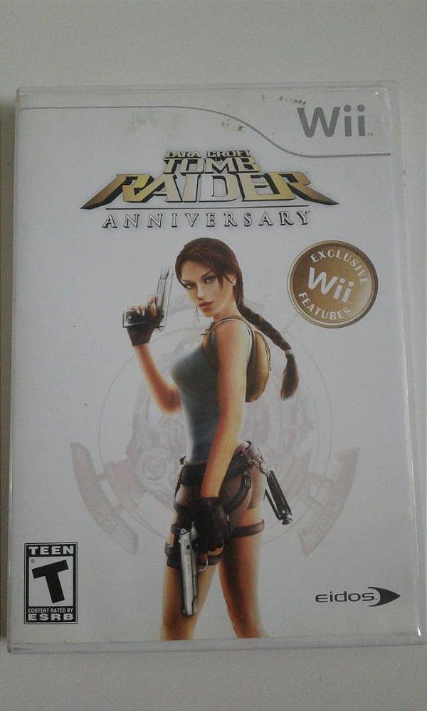 Game Nintendo Wii - Tomb Raider: Anniversary NTSC/US
