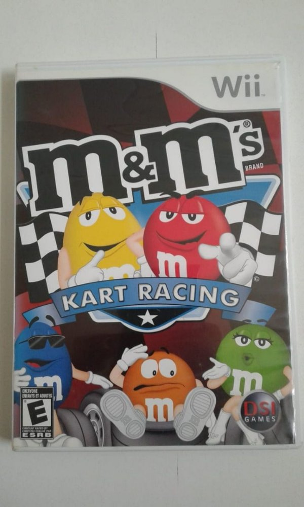 Game Nintendo Wii - M&m's Kart Racing NTSC/US