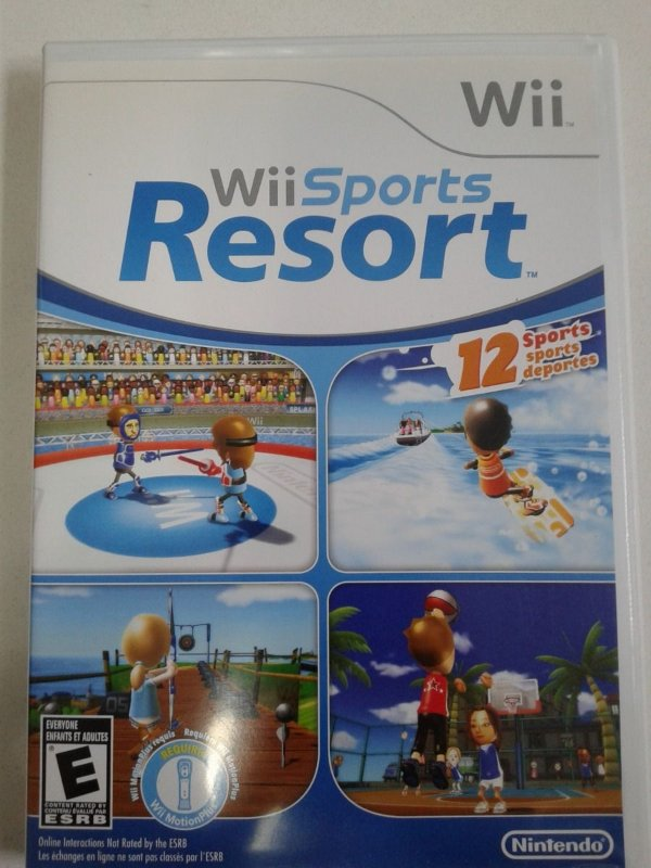 Game Nintendo Wii - Wii Sports Resort NTSC/US