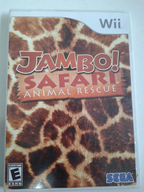 Game Nintendo Wii - Jambo! Safari Animal Rescue NTSC/US