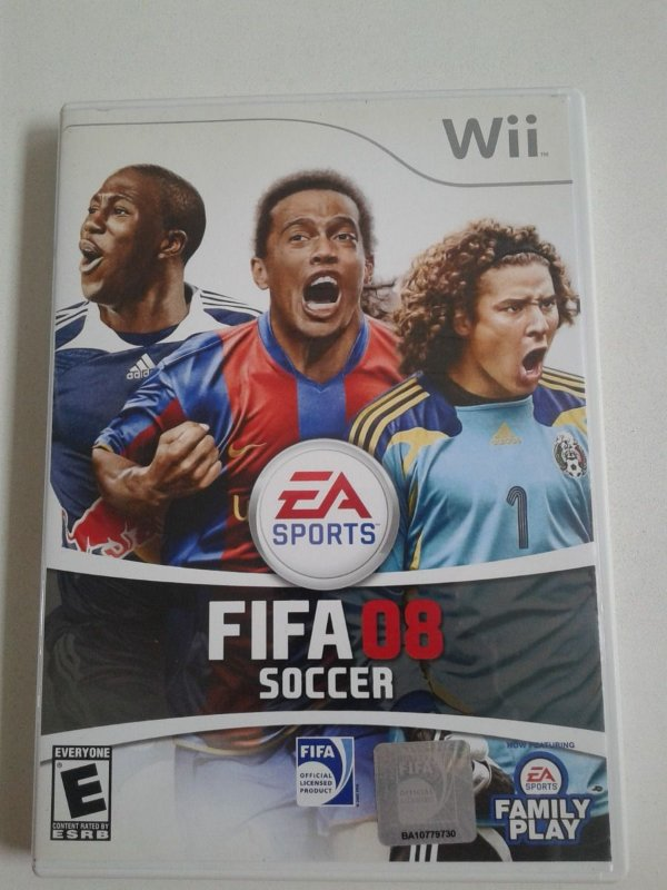 Game Nintendo Wii - Fifa 08 Soccer NTSC/US