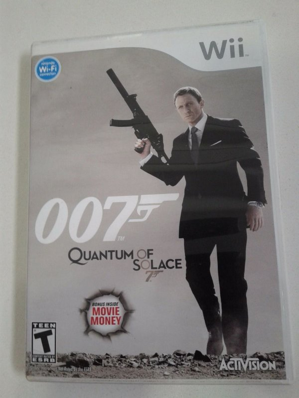 Game Nintendo Wii - 007 Quantum Of Solace NTSC/US