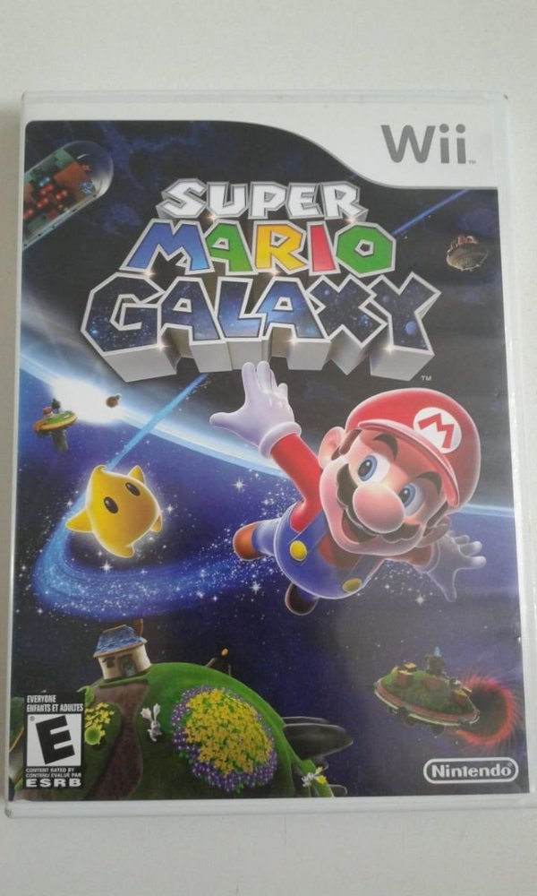 Game Nintendo Wii - Super Mario Galaxy NTSC/US