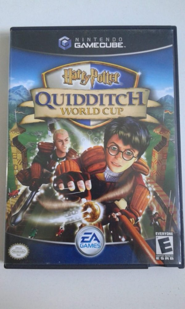 Game para GameCube - Harry Potter Quidditch World NTSC/US