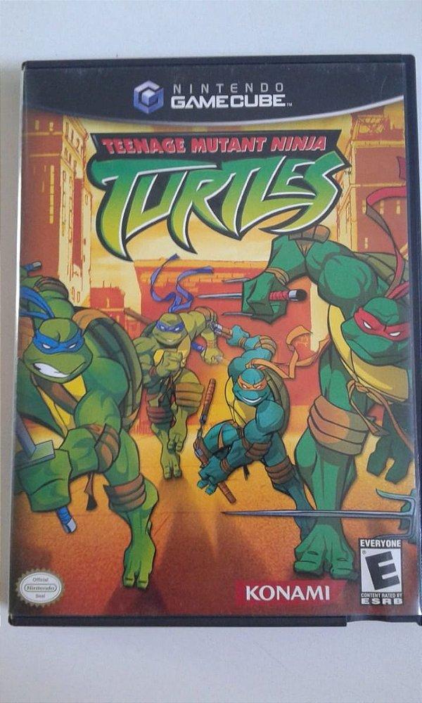 Game para GameCube - Teenage Mutant Ninja Turtles NTSC/US