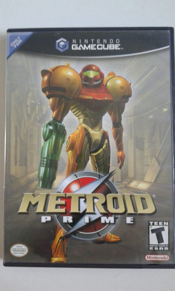 Game para GameCube - Metroid Prime NTSC/US