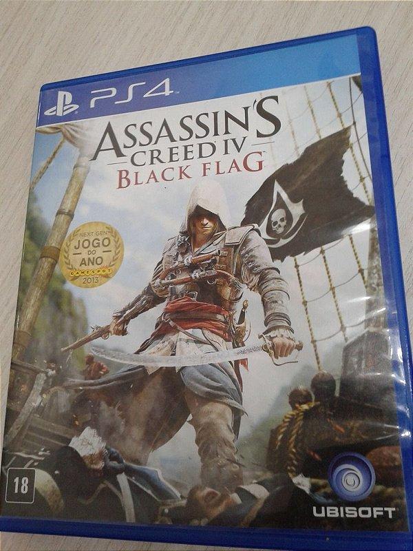 Game Para PS4 - Assassin's Creed IV Black Flag