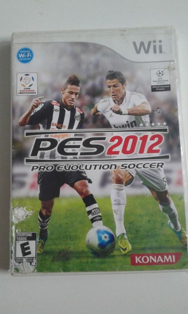 Game Nintendo Wii - PES 2012 Pro Evolution Soccer  NTSC/US