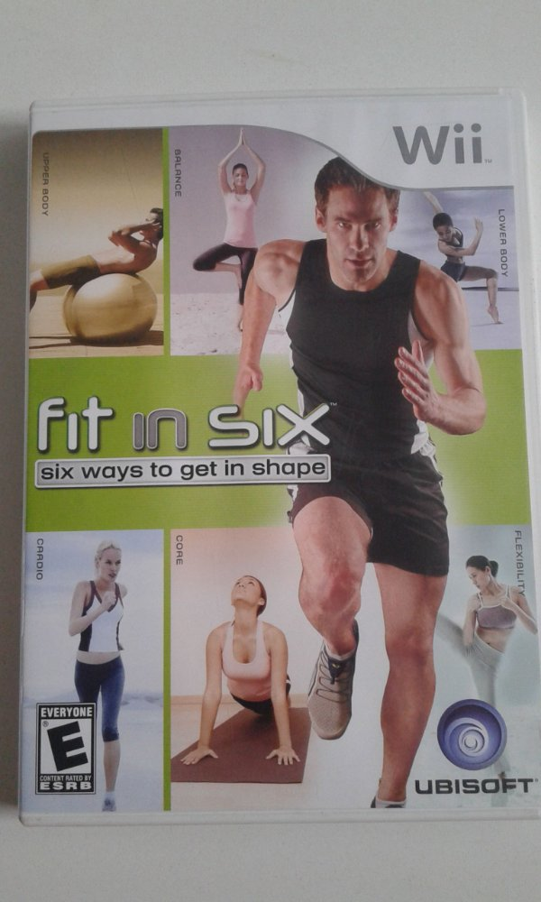Game Nintendo Wii - Fit In Six NTSC/US