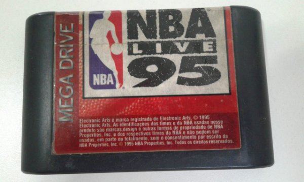 Game para Mega Drive - Nba Live 95