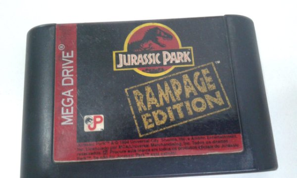 Game para Mega Drive -  Jurassic Park Rampage Editilon