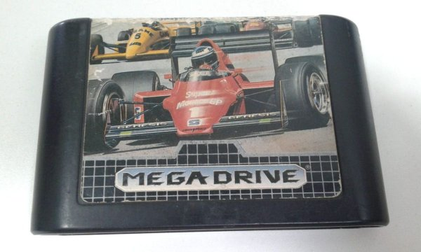 Game para Mega Drive - Super Monaco GP