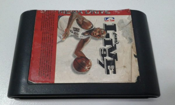 Game para Mega Drive - NBA Live 97