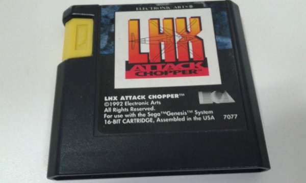 Game para Mega Drive - LHX Attack Chopper