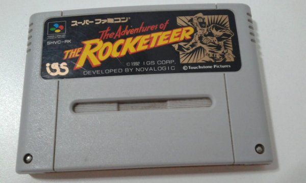 Game Para SNES / SFC - The Adventures Of The Rocketeer