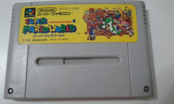 Game Para SNES / SFC - Super Mario World