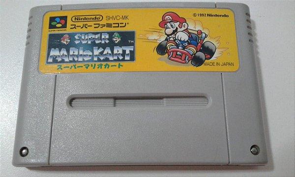 Game Para SNES / SFC - Super Mario Kart