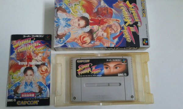 Game Para SNES / SFC - Super Street Fighter 2 Completo
