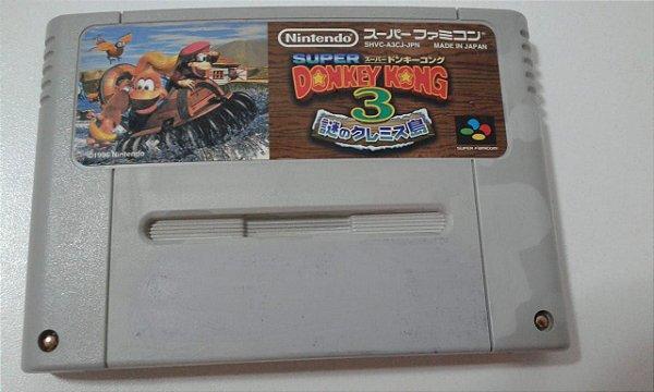 Game Para SNES / SFC - Donkey Kong Country 3