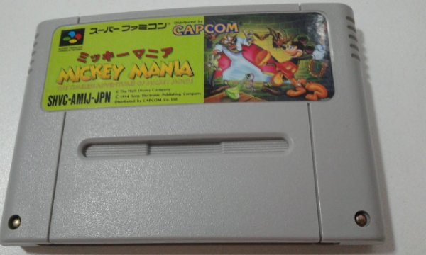 Game Para SNES / SFC - Mickey Mania