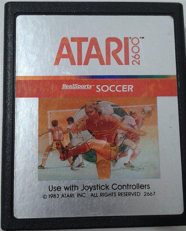 Game Para Atari - RealSports Soccer