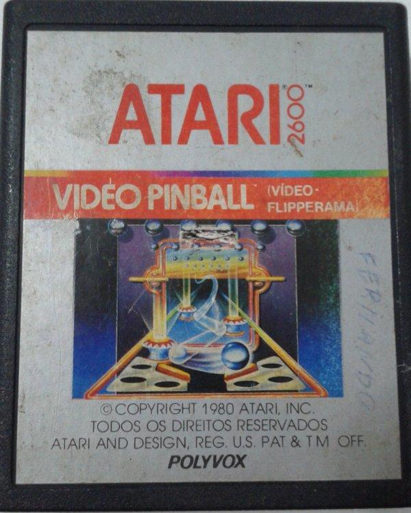 Game Para Atari - Video Pinball