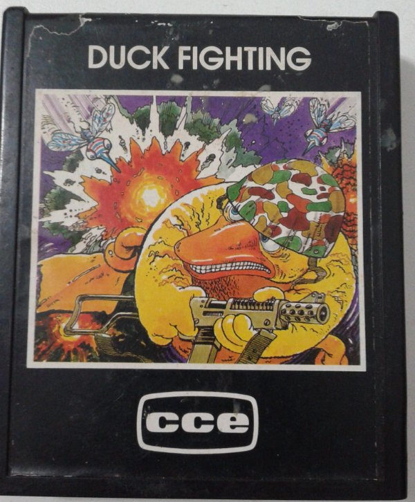 Game Para Atari - Duck Fighting