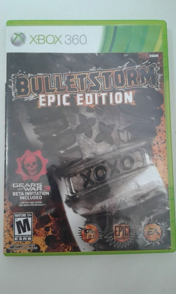 Game Para Xbox 360 - Bulletstorm - Epic Edition
