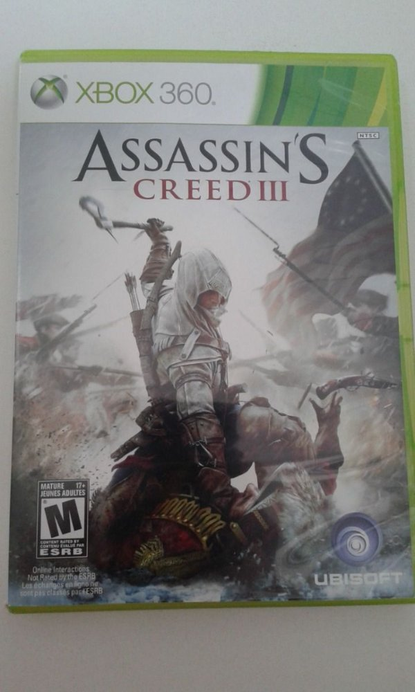 Game Para Xbox 360 - Assassin's Creed 3