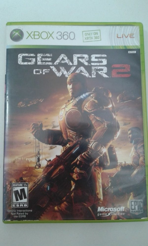 Game Para Xbox 360 - Gears Of War 2
