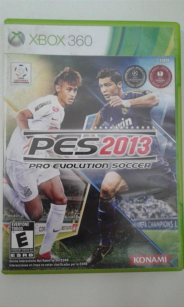 Game Para Xbox 360 - Pes 2013 Pro Evolution Soccer