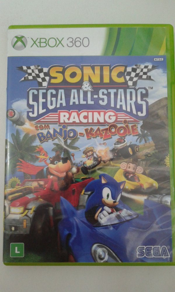 Game Para Xbox 360 - Sonic & Sega All-Stars Racing