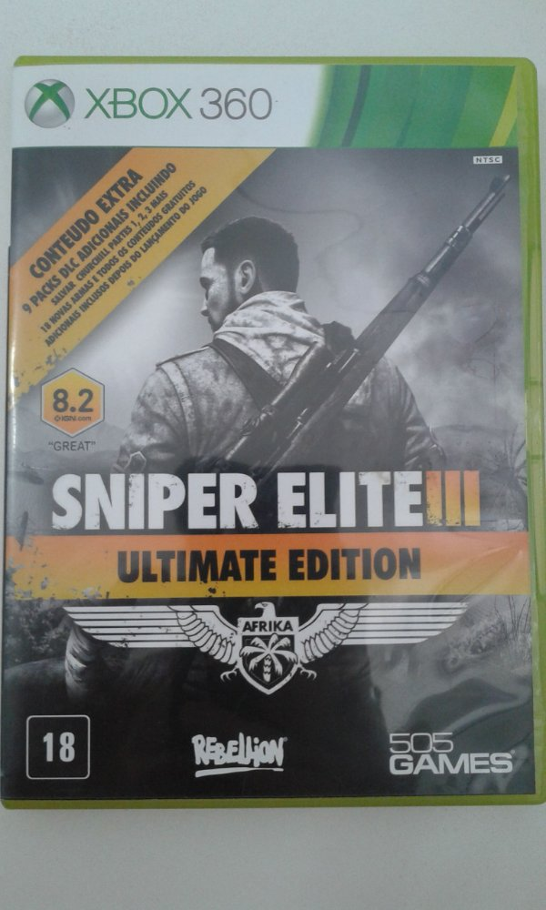 Game Para Xbox 360 - Sniper Elite 3 Ultimate Edition
