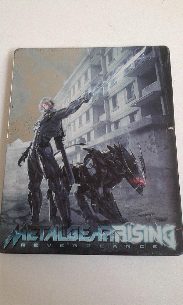Game Para PS3 - Metal Gear Rising: Revengeance Steelbook