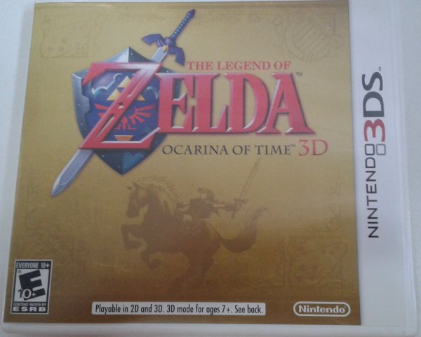 Game para Nintendo 3DS - The Legend of Zelda Ocarina of Time 3D