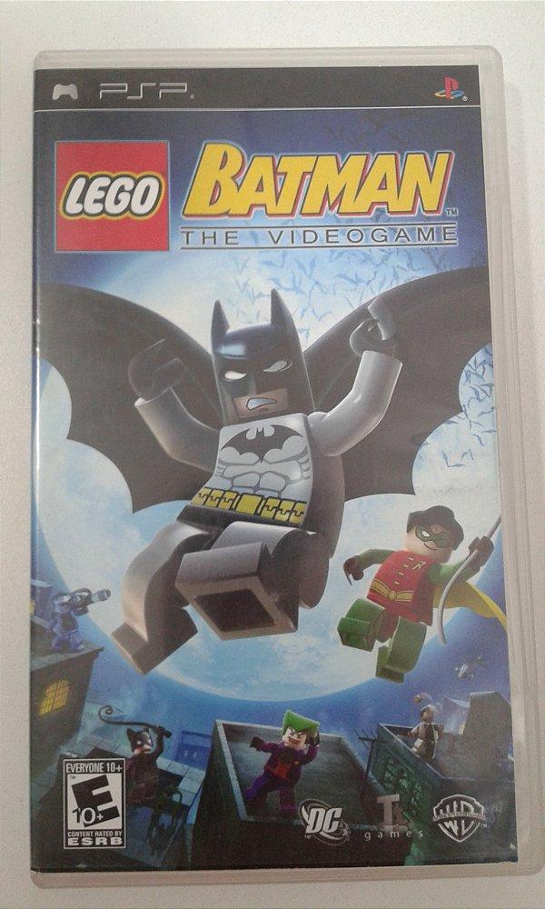Game para PSP - Lego Batman The Videogame