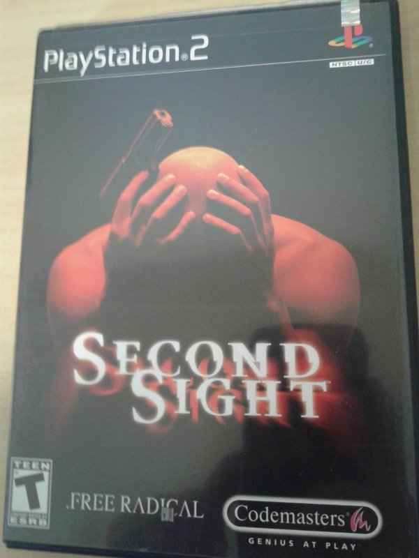 Game Para PS2 - Second Sight NTSC/US