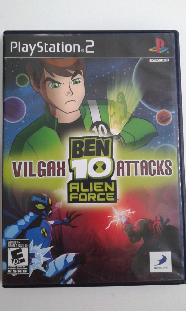 Game Para PS2 - Ben 10 Alien Force Vilgax Attacks NTSC/US