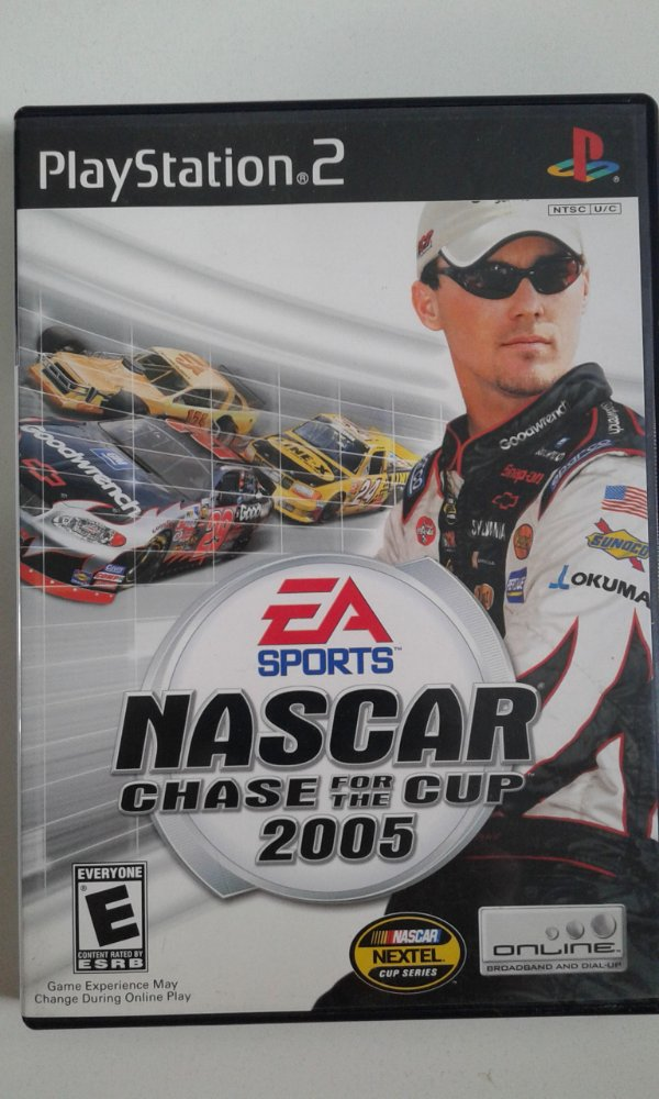 Game Para PS2 - NASCAR 2005 Chase for the Cup NTSC/US