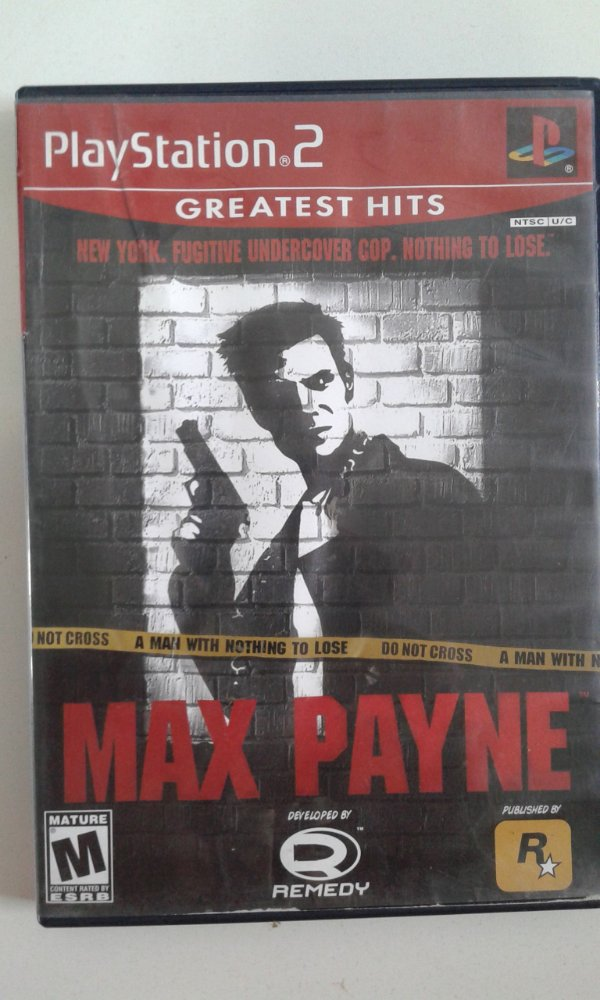 Game Para PS2 - Max Payne NTSC/US