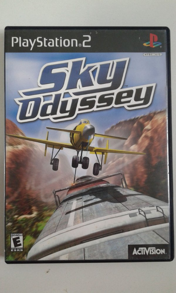 Game Para PS2 - Sky Odyssey NTSC/US