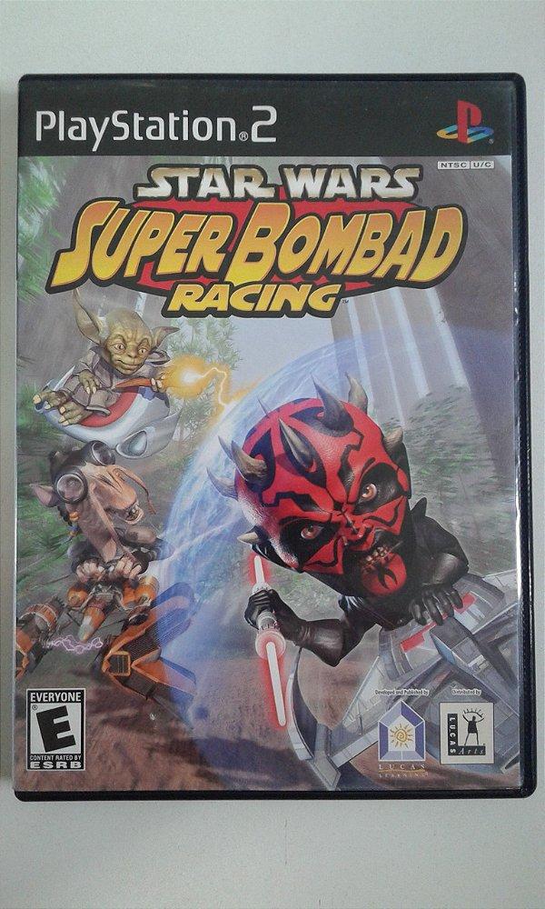 Game Para PS2 - Star Wars Super Bombad Racing NTSC/US