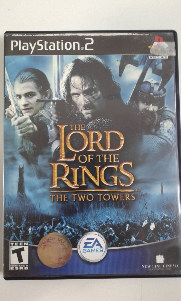 Game Para PS2 - The Lord of the Rings The Two Towers NTSC/US