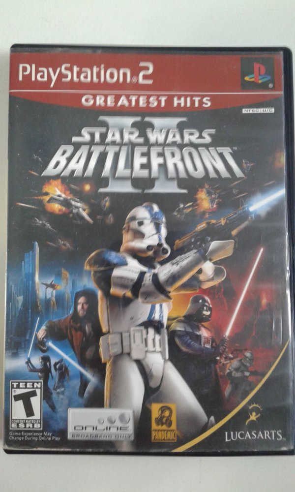 Game Para PS2 - Star Wars Battlefront 2 NTSC/US