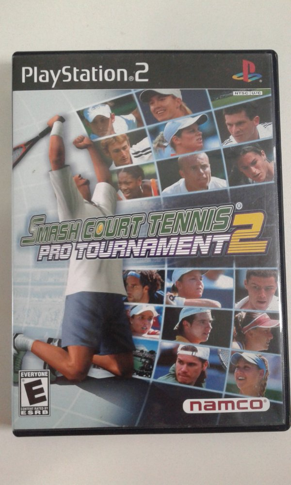 Game Para PS2 - Smash Court Tennis Pro Tournament 2 NTSC/US