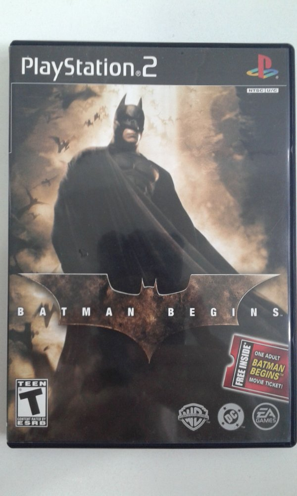 Game Para PS2 - Batman Begins NTSC/US