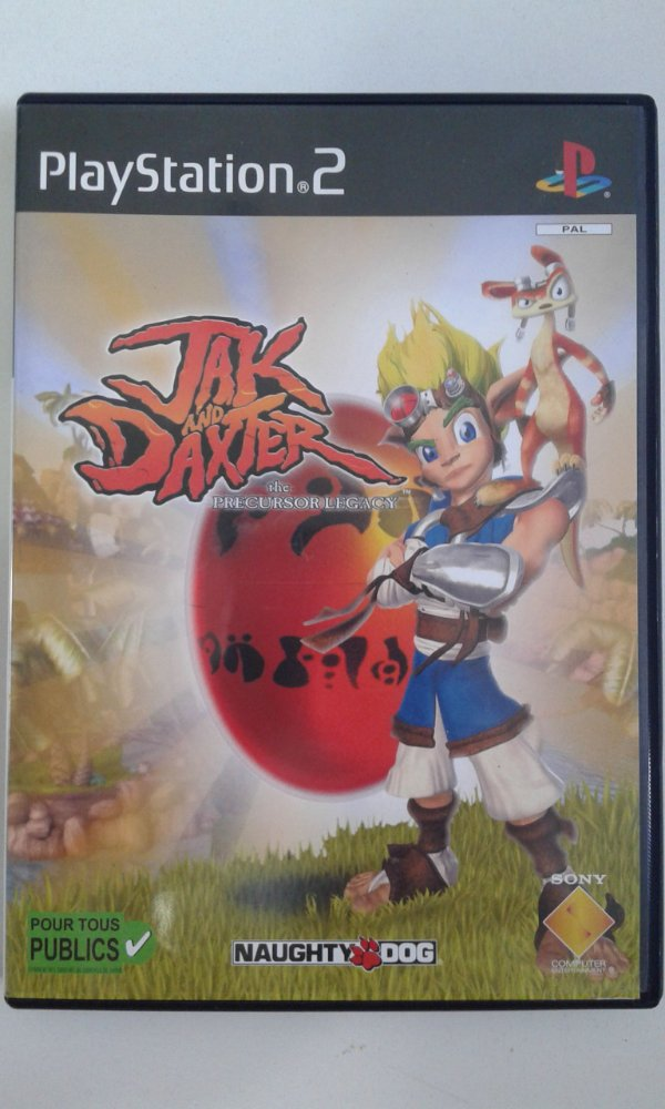 Game Para PS2 - Jak and Daxter The Precursor Legacy PALM/UE