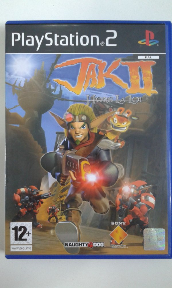 Game Para PS2 - Jak 2 PALM/UE