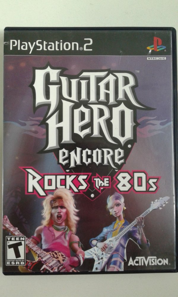 Game Para PS2 - Guitar Hero Encore Rocks the 80s NTSC/US